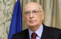 Президент Італії відвідає фінал Євро-2012 в Києві