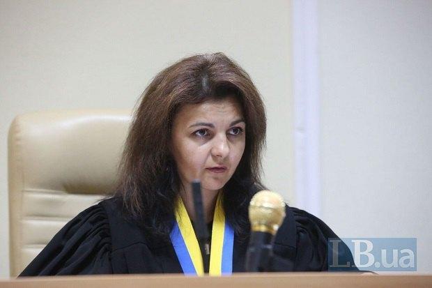 Судья Олеся Батрин