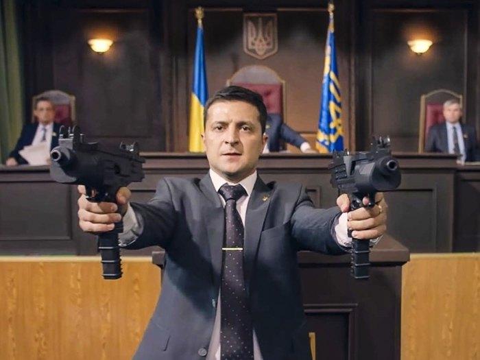 Кадр из сериала 'Слуга народа'