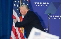 Трамп лидирует по итогам подсчета голосов в 41 штате