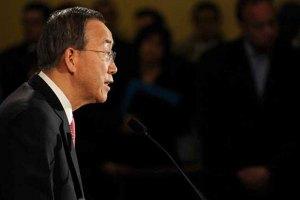 """Пан Гі Мун попросив Іран допомогти вирішити """"сирійську кризу"""""""