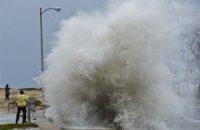 Ураганный ветер со снегопадом отрезал японский остров от цивилизации