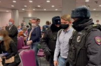 У Москві поліція зірвала форум муніципальних депутатів, затримавши майже всіх делегатів