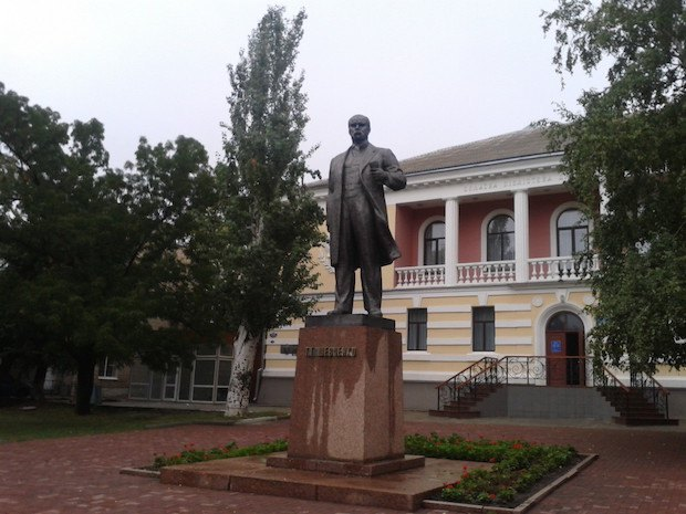 Пам'ятник Тарасу Шевченку. 1982. Кіровоград