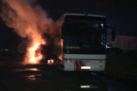 Повідомлення про підпал польського автобуса у Львові виявилося фейком