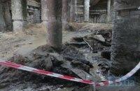 На Почтовой площади в Киеве подтопило раскопки