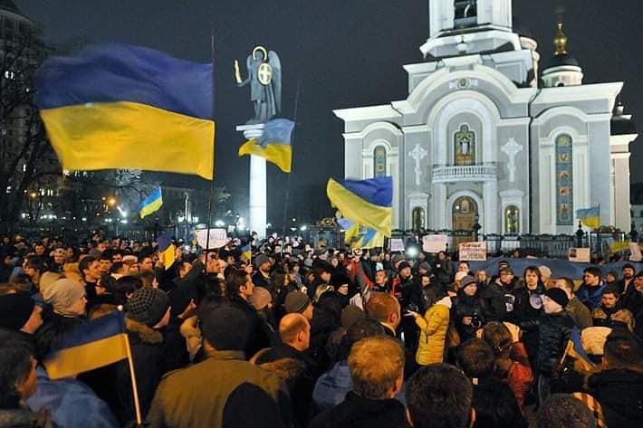 Мітинг на Соборній площі, Донецьк, 4 березня 2014 року