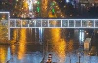 Потужна злива накрила Запоріжжя та Харків