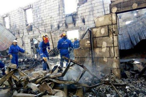 К пожару в доме престарелых мог привести взрыв телевизора