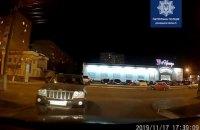 В Мариуполе патрульные с погоней задержали пьяного водителя внедорожника