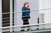 Меркель продовжує наполягати на перемовинах Євросоюзу з Росією