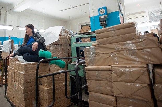 Невольные узники типографии <<Приазовского рабочего>> ложатся спать прямо на бюллетенях
