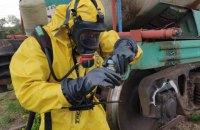 У Миколаївській області на залізничній колії протекла цистерна з бензолом