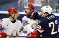 Білорусь вперше в історії розгромила США на хокейному ЧС