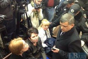 "В суд по делу Тимошенко подтянулся ""Беркут"""