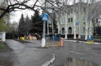 У Краматорську сепаратисти встановили КПП біля військового аеродрому