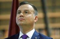 Загроза вторгнення Росії все ще існує, - президент Польщі Дуда