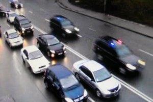 Киевская ГАИ задержала автобусы одесских торговцев, ехавших к Азарову