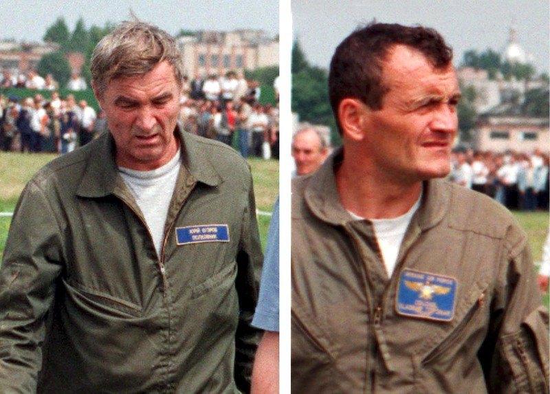 Володимир Топонар (справа) і Юрій Єгоров у день трагедії