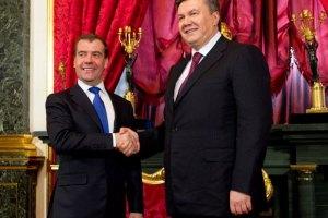 Янукович побажав Медведєву подальших успіхів