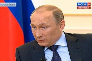 """Путін """"з великою стурбованістю"""" спостерігає за сходом України"""