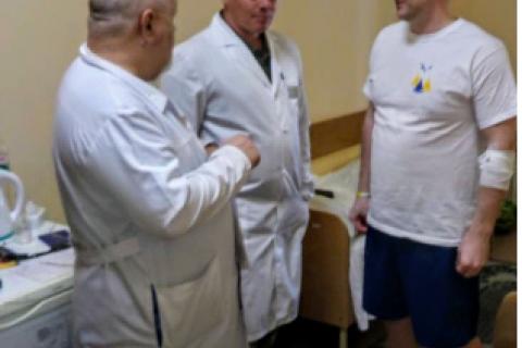 Стан здоров'я звільнених українських моряків задовільний, - Міноборони