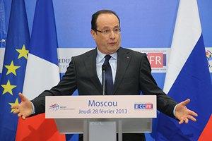 Франция хочет наказать режим Асада за химатаку