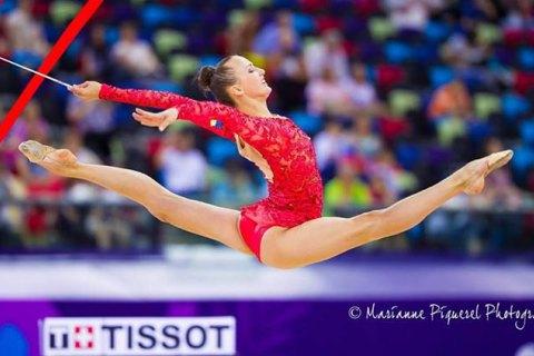 Українка стала чемпіонкою світу з художньої гімнастики