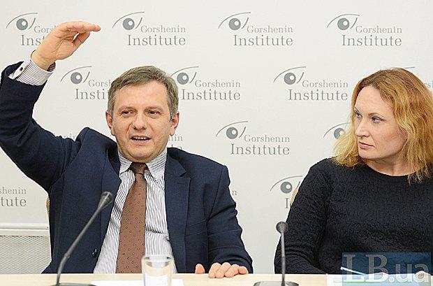 Олег Устенко і Наталя Клаунінг