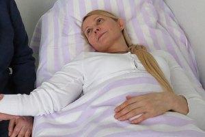 Тимошенко розповіла співдоповідачам ПАРЄ про лікування
