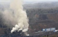 У Луганській області другий день горить шахта