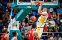 Украина сенсационно обыграла вторую баскетбольную сборную мира