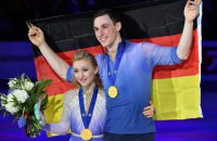 Алена Савченко выиграла чемпионат мира по фигурному катанию