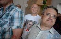 Избитых под Киевсоветом депутатов не пускают к Захарченко
