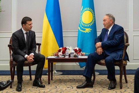 """Назарбаєв запропонував Путіну та Зеленському зустрітися """"віч-на-віч"""" у Казахстані"""