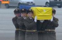 """До """"Борисполя"""" прибув борт з тілами загиблих в авіакатастрофі під Тегераном"""