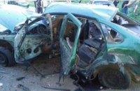 В Донецкой области взорвали машину с работниками СБУ, погиб полковник спецслужбы (обновлено)