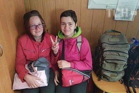 Київські шестикласниці, яких розшукували три дні, знайшлися