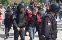 В России начались задержания на митингах Навального