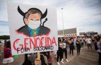 У Бразилії тисячі людей протестували проти президента Болсонару