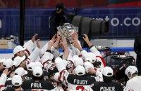 Канадці відібрали у фінів звання чемпіонів світу з хокею