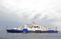 """Российский пограничный корабль задержал рыбаков из Украины за нарушение """"госграницы"""""""
