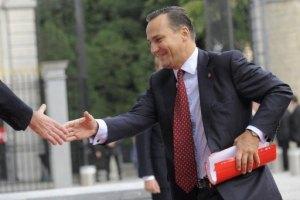 Министр иностранных дел Польши прибыл в Украину