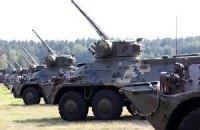 Очередную партию бронетехники получит Нацгвардия на будущей неделе