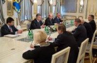 Порошенко назначил представителей Украины в подгруппах по Донбассу