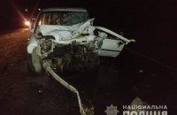 Четверо людей погибли, еще четверо пострадали при лобовом столкновении в Запорожской области