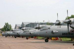 Пять индийских самолетов потерялись при ремонте в Украине