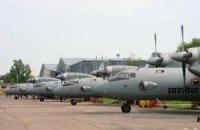 П'ять індійських літаків загубилися під час ремонту в Україні