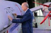 Туреччина взяла на озброєння ударний безпілотник Akıncı