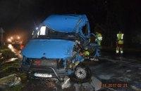 В Словакии автобус с украинцами попал в ДТП